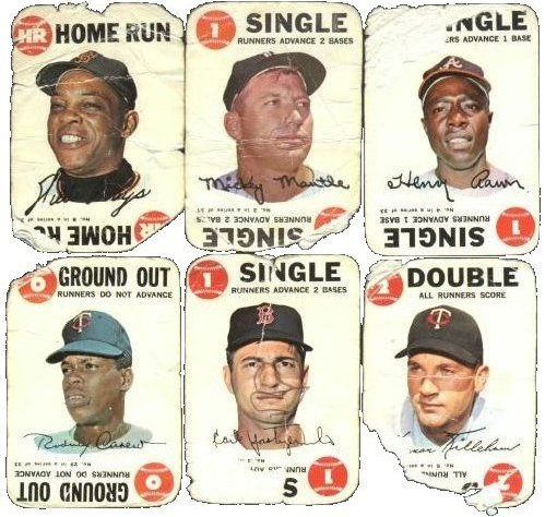 1968 Topps Game Cards