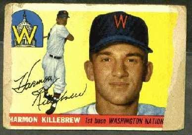 1955 Topps - Harmon Killebrew