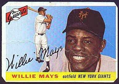 1955 Topps - Willie Mays