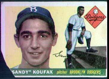 1955 Topps - Sandy Koufax