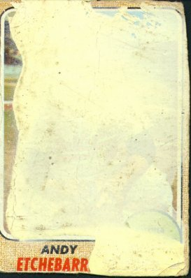 1968 Topps - Andy Etchebarran