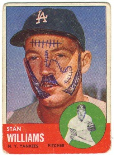 1963 Topps - Stan Williams