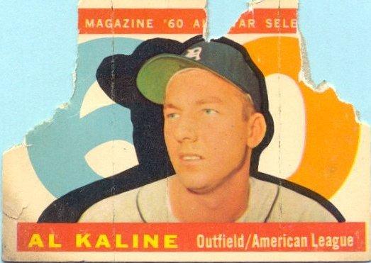 1960 Topps - Al Kaline