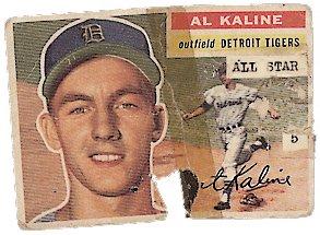 1956 Topps - Al Kaline