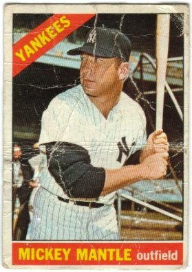 1966 Topps - Mickey Mantle