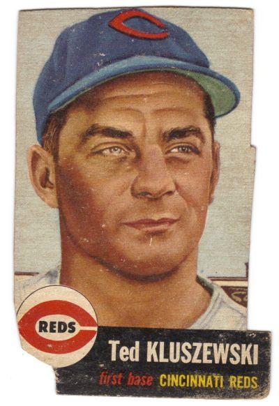 1953 Topps Ted Kluszewski