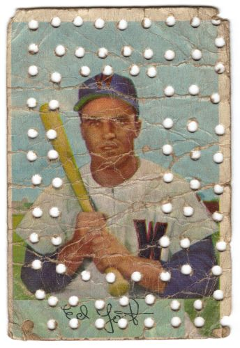 1954 Bowman Ed Yost