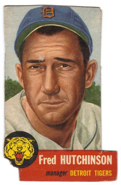 1953 Topps Fred Hutchinson